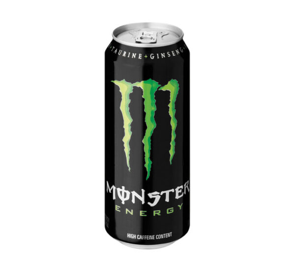 Monster energy can